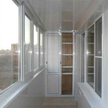 Вартість засклення балконів ціни в Києві.