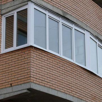 Засклення балконів лоджій у Києві