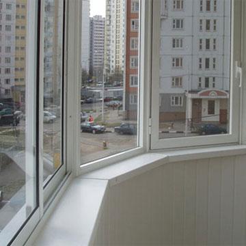 Пластикові вікна лоджія скління у Києві.