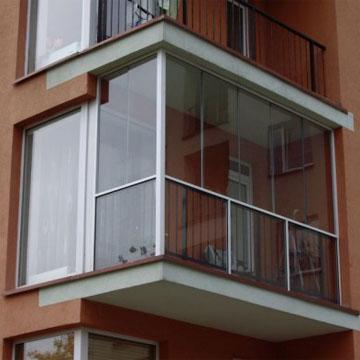 Балконы под ключ, обшивка балконов в Киеве