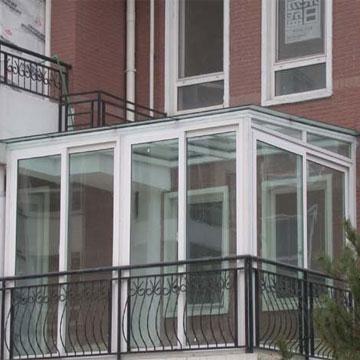 Французский балкон, остекление в Киеве