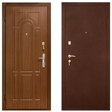 Броньовані двері в Києві, МДФ накладки на двері