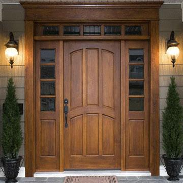 Двері з МДФ накладками – найкраще оздоблення