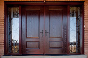 Двери с МДФ накладками – лучшее оформление
